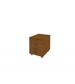 Kontajner -4 zásuvkový + centrálny zámok