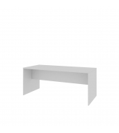 Stôl zasadací s drevenou podnožou