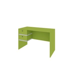 Písací stôl s dvoma zásuvkami