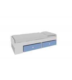 Jednolôžková posteľ s úložným priestorom