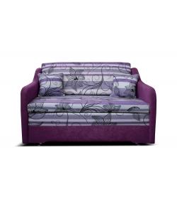 Edra, pohova - Suedine fialová/vzor 0510-002-65