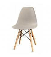 Stolička, sivá + buk, Cinkla New